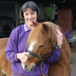 Gill with equine patient